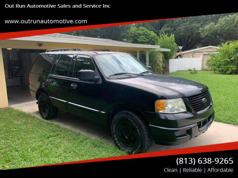 2005 Ford Expedition for sale at Out Run Automotive Sales and Service Inc in Tampa FL