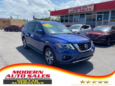 2020 Nissan Pathfinder for sale at Modern Auto Sales in Hollywood FL
