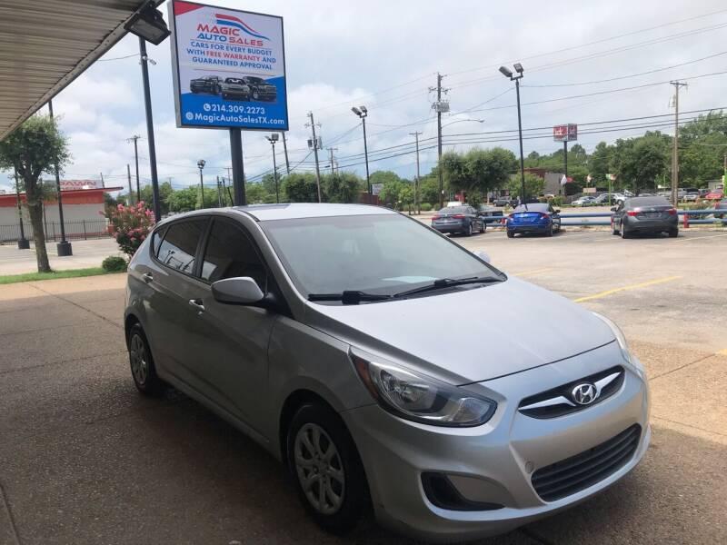 2014 Hyundai Accent for sale at Magic Auto Sales - Cash Cars in Dallas TX