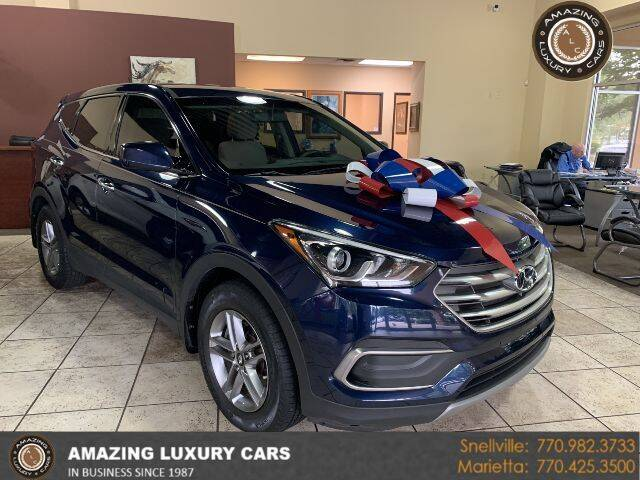 2018 Hyundai Santa Fe Sport for sale at Amazing Luxury Cars in Snellville GA