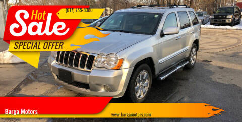 2010 Jeep Grand Cherokee for sale at Barga Motors in Tewksbury MA