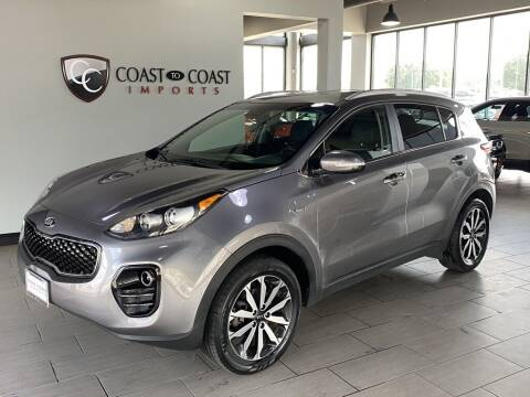 2019 Kia Sportage for sale at Coast to Coast Imports in Fishers IN