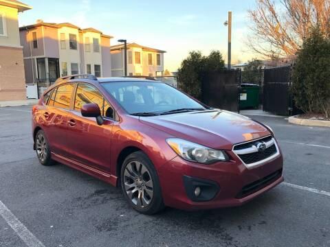 2013 Subaru Impreza for sale at JG Auto Sales in North Bergen NJ