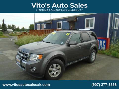 2011 Ford Escape for sale at Vito's Auto Sales in Anchorage AK