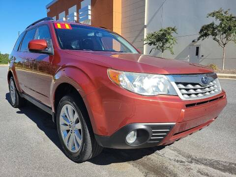 2011 Subaru Forester for sale at ELAN AUTOMOTIVE GROUP in Buford GA