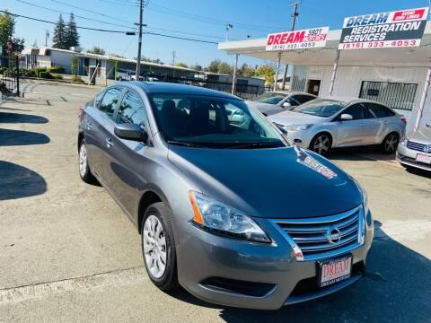 2015 Nissan Sentra for sale at Dream Motors in Sacramento CA