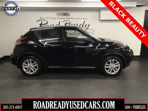 2015 Nissan JUKE for sale at Road Ready Used Cars in Ansonia CT
