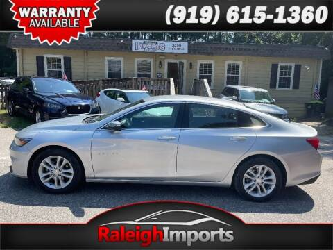 2018 Chevrolet Malibu for sale at Raleigh Imports in Raleigh NC