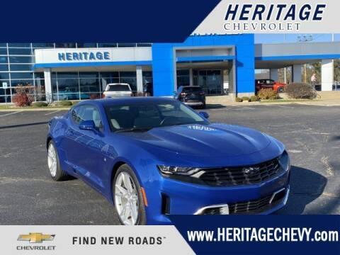 2019 Chevrolet Camaro for sale at HERITAGE CHEVROLET INC in Creek MI