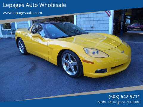 2005 Chevrolet Corvette for sale at Lepages Auto Wholesale in Kingston NH