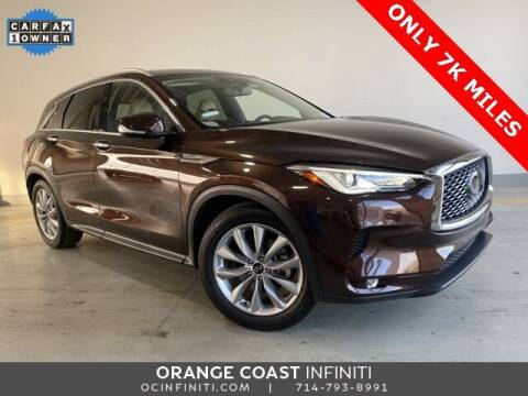 2020 Infiniti QX50 for sale at ORANGE COAST CARS in Westminster CA
