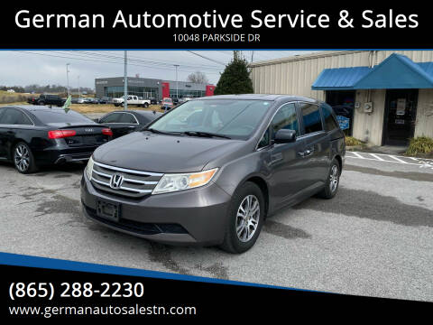 2011 Honda Odyssey for sale at German Automotive Service & Sales in Knoxville TN