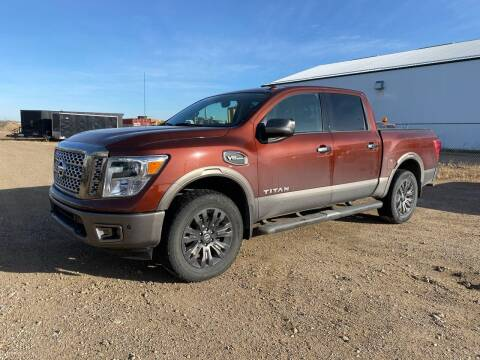 2017 Nissan Titan for sale at Canuck Truck in Magrath AB