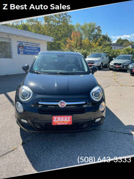 2016 FIAT 500X for sale at Z Best Auto Sales in North Attleboro MA