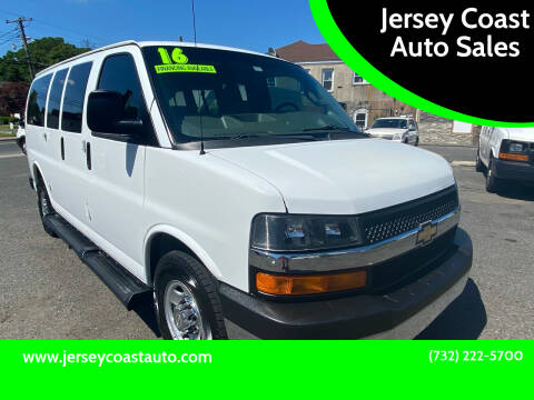 2016 Chevrolet Express Passenger for sale at Jersey Coast Auto Sales in Long Branch NJ