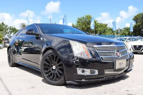 2011 Cadillac CTS for sale at OCEAN AUTO SALES in Miami FL