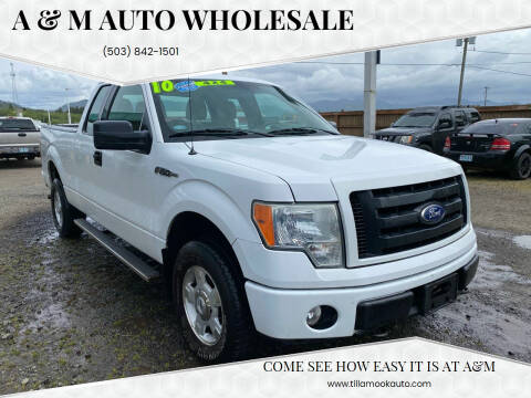 2010 Ford F-150 for sale at A & M Auto Wholesale in Tillamook OR