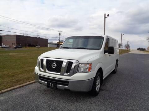 2013 Nissan NV Cargo for sale at Rt. 73 AutoMall in Palmyra NJ