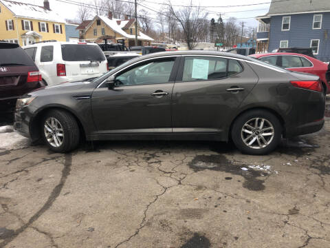 2011 Kia Optima for sale at Connecticut Auto Wholesalers in Torrington CT
