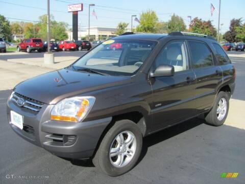 2007 Kia Sportage for sale at Glory Auto Sales LTD in Reynoldsburg OH