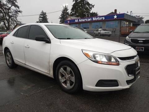 2014 Chevrolet Malibu for sale at All American Motors in Tacoma WA