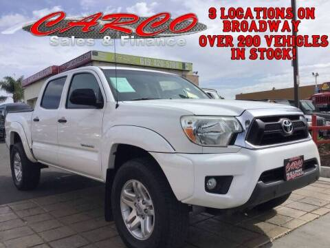 2014 Toyota Tacoma for sale at CARCO SALES & FINANCE in Chula Vista CA
