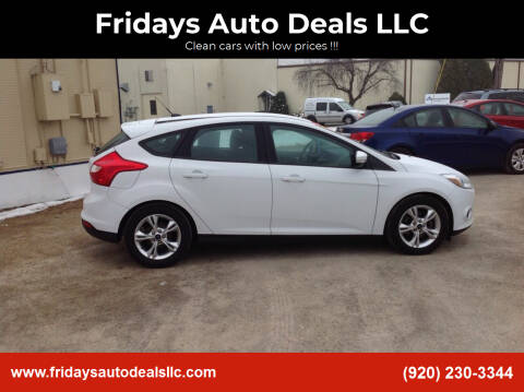 2014 Ford Focus for sale at Fridays Auto Deals LLC in Oshkosh WI