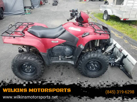 2014 Suzuki KingQuad 750 EPS for sale at WILKINS MOTORSPORTS in Brewster NY