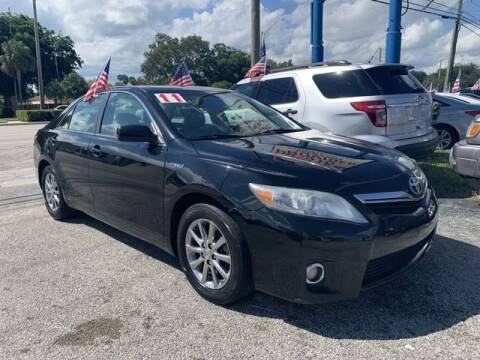 2011 Toyota Camry Hybrid for sale at AUTO PROVIDER in Fort Lauderdale FL