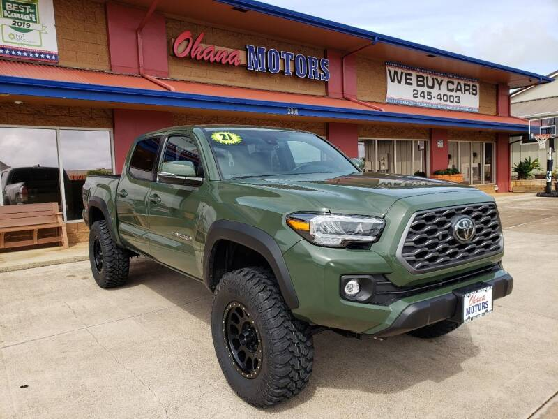 2021 Toyota Tacoma for sale at Ohana Motors in Lihue HI