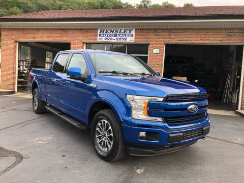 2018 Ford F-150 for sale at Hensley Auto Sales in Frankfort KY