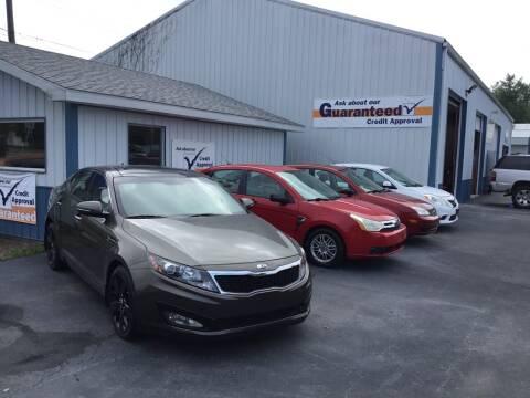 2013 Kia Optima for sale at B & R Auto Sales in Terre Haute IN