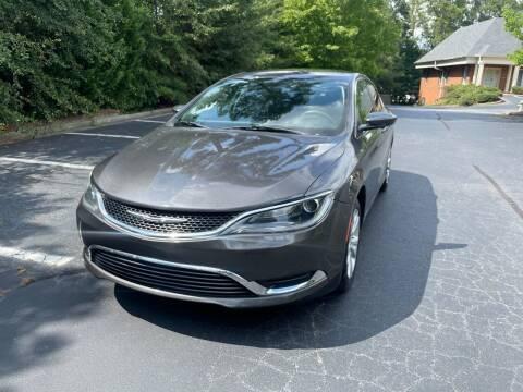 2016 Chrysler 200 for sale at SMT Motors in Roswell GA