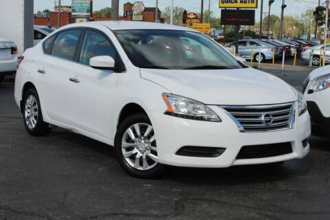 2015 Nissan Sentra for sale at Dynamics Auto Sale in Highland IN