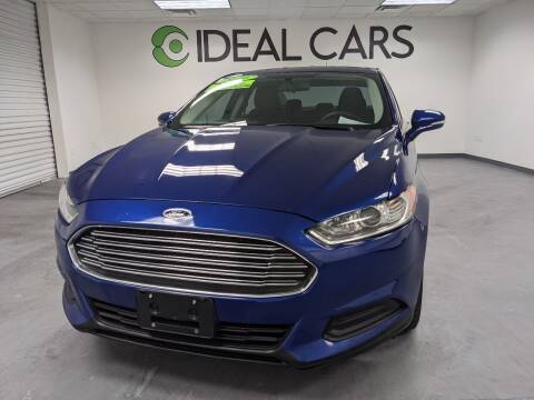 2016 Ford Fusion for sale at Ideal Cars Atlas in Mesa AZ