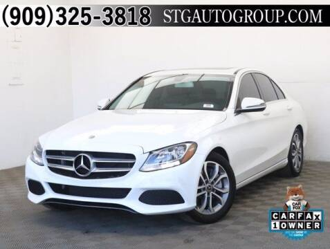 2018 Mercedes-Benz C-Class for sale at STG Auto Group in Montclair CA