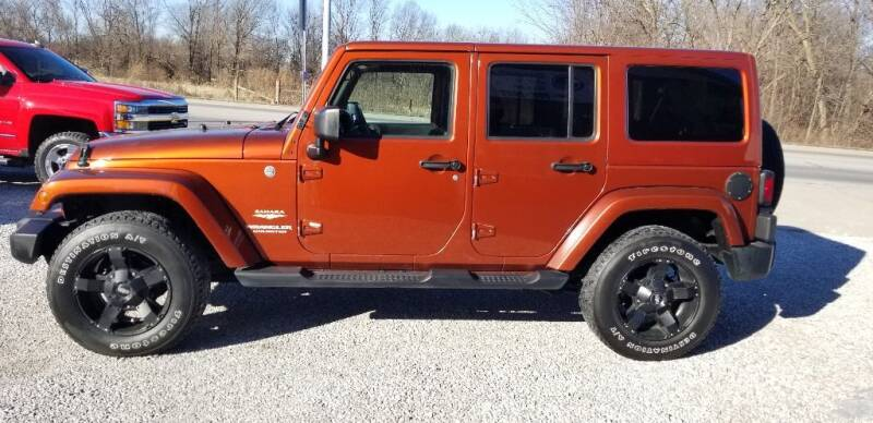 2014 Jeep Wrangler Unlimited for sale at DANVILLE AUTO SALES in Danville IN