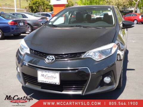 2014 Toyota Corolla for sale at McCarthy Wholesale in San Luis Obispo CA