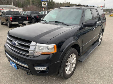2016 Ford Expedition for sale at Ripley & Fletcher Pre-Owned Sales & Service in Farmington ME