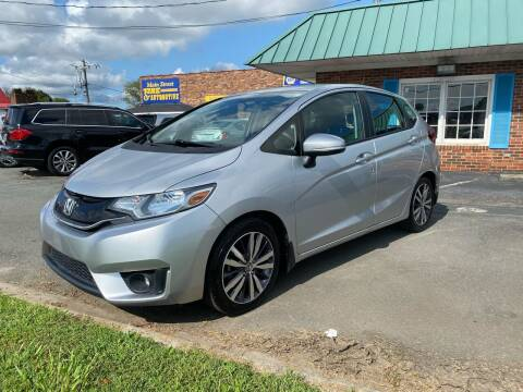2015 Honda Fit for sale at Main Street Auto LLC in King NC