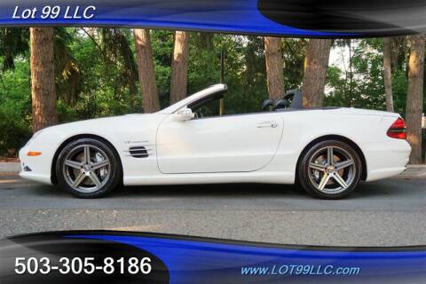 2008 Mercedes-Benz SL-Class for sale at LOT 99 LLC in Milwaukie OR