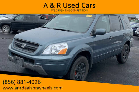 2005 Honda Pilot for sale at A & R Used Cars in Clayton NJ