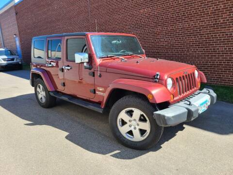 2008 Jeep Wrangler Unlimited for sale at Minnesota Auto Sales in Golden Valley MN