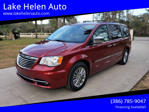 2014 Chrysler Town and Country for sale at Lake Helen Auto in Lake Helen FL