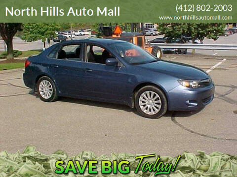 2011 Subaru Impreza for sale at North Hills Auto Mall in Pittsburgh PA