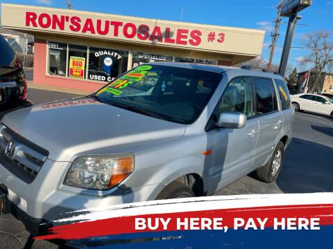 2006 Honda Pilot for sale at RON'S AUTO SALES INC in Cicero IL