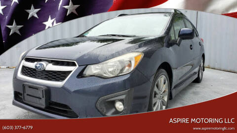2014 Subaru Impreza for sale at Aspire Motoring LLC in Brentwood NH
