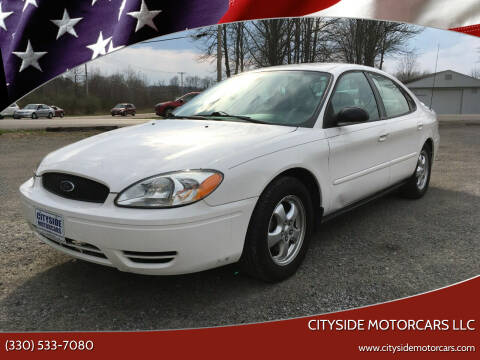 2005 Ford Taurus for sale at CITYSIDE MOTORCARS LLC in Canfield OH