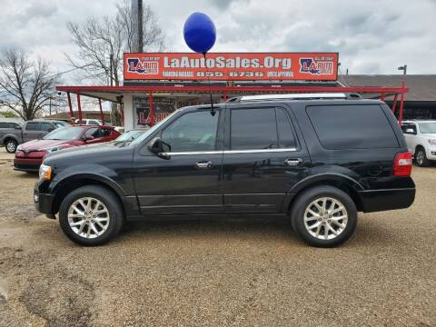 2017 Ford Expedition for sale at LA Auto Sales in Monroe LA