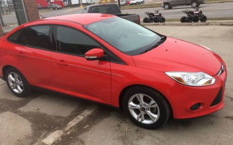 2013 Ford Focus for sale at Bramble's Auto Sales in Hastings NE